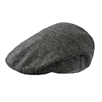 TOSKATOK Mens Tweed Flat Caps