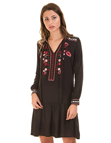 Ethnic shirt dress VMJOLINE by Vero Moda (S - Black)