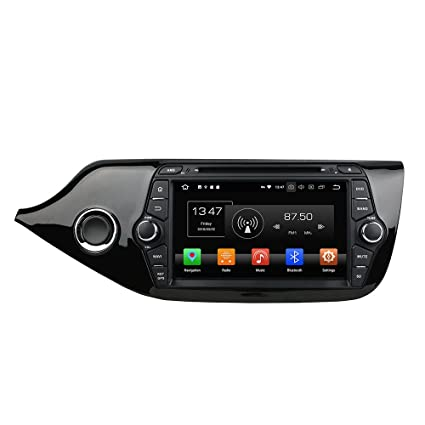 Kunfine Android 8.0 Octa Core Car DVD GPS Navigation Multimedia Player Car Stereo for Kia CEED