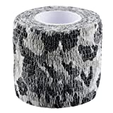 HOUSWEETY Telescopic Outdoor Camo Self-Adhesive Nonwoven Fabric for Snowfield