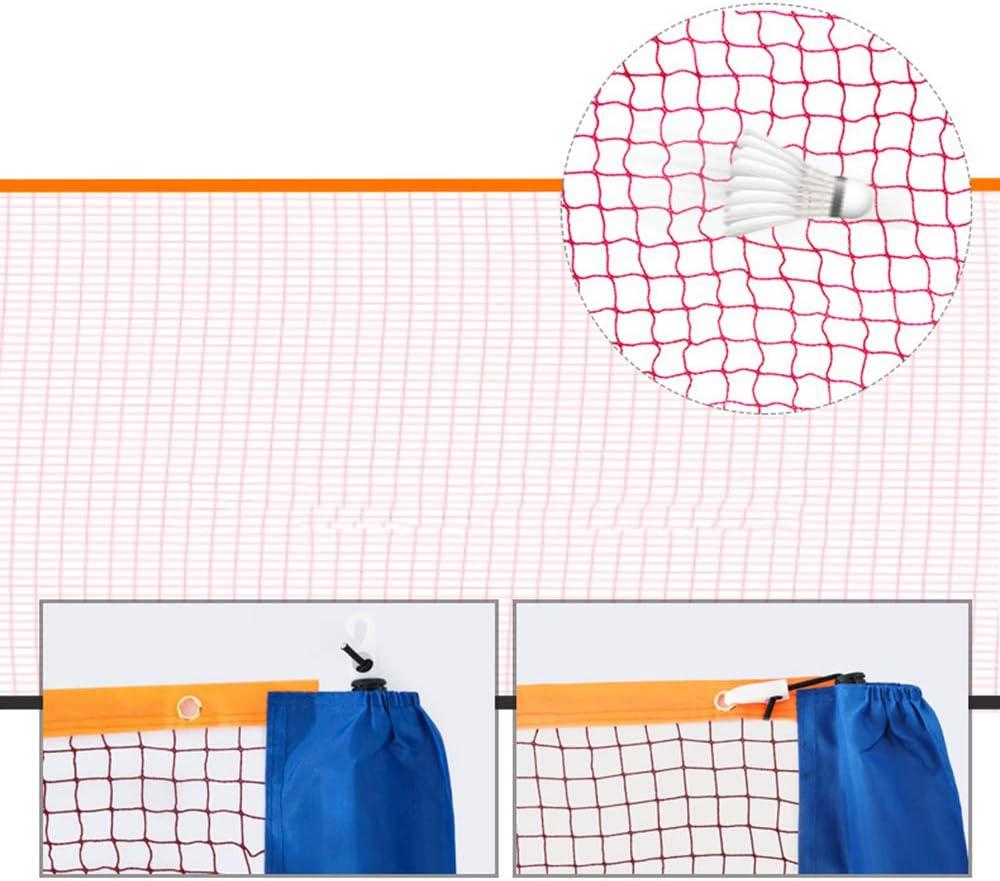 Piscinas Cuatro Cuadrados Red De B/ádminton De Tenis Red De V/óley Playa Impermeable Port/átil para Jardines Easy-topbuy Red De Voleibol Campus Playas