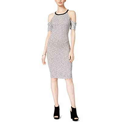 Bar III Womens Cold Shoulder Bodycon Dress at Women's Clothing store