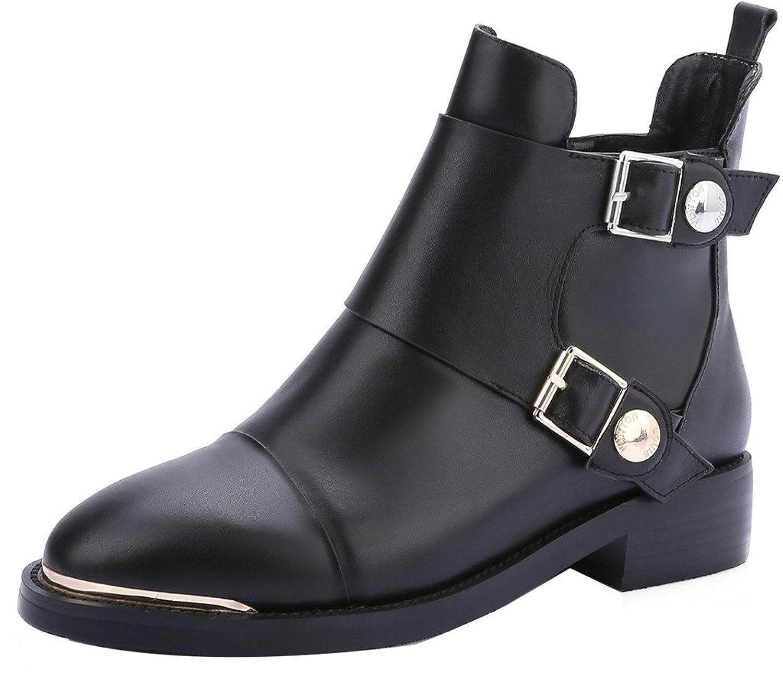 ELEHOT Womens Elenice 3CM low-heel Boots