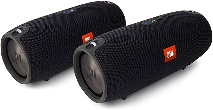 JBL Xtreme Portable Wireless Bluetooth Speakers - Pair (Black)