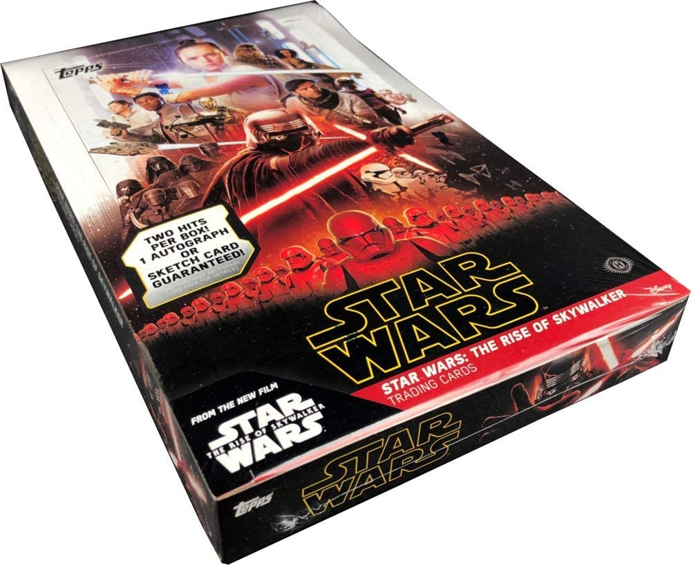 Amazon Com Topps Star Wars The Rise Of Skywalker Hobby Box Collectibles Fine Art