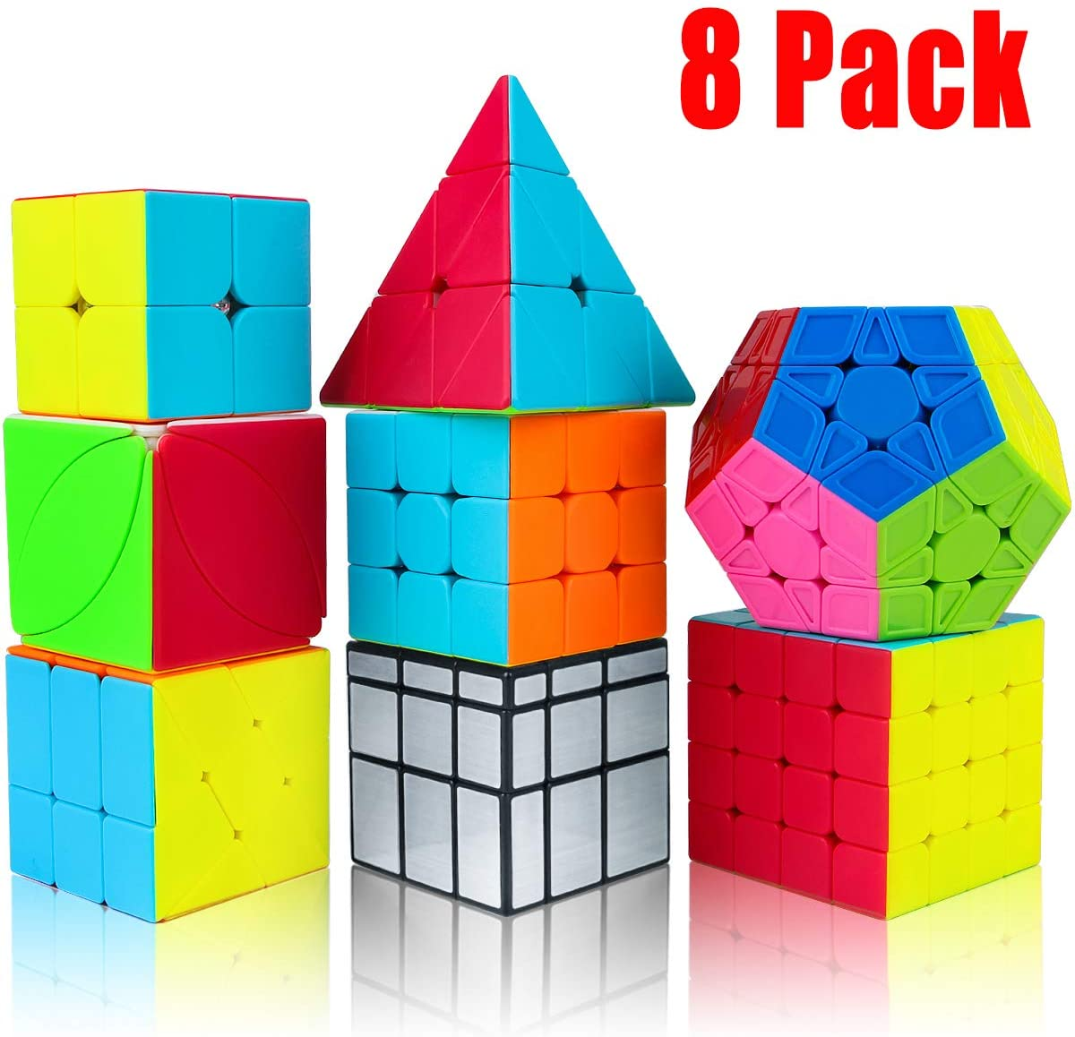 Magic Cube Stickerless Speed Cube Puzzle Toys Adult Educational Toys for Children Gift High Difficulty 3D Puzzle This is A Difficult Challenge