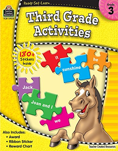 Ready-Set-Learn: 3rd Grade Activities