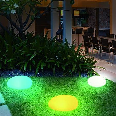 DJSDFHB Luces LED de jardín de adoquines Creativas, Luces de Villa Minimalistas, Impermeables, a Prueba de Agua, Minimalistas e Impermeables, Luces Decorativas de jardín con césped de Color: Amazon.es: Hogar