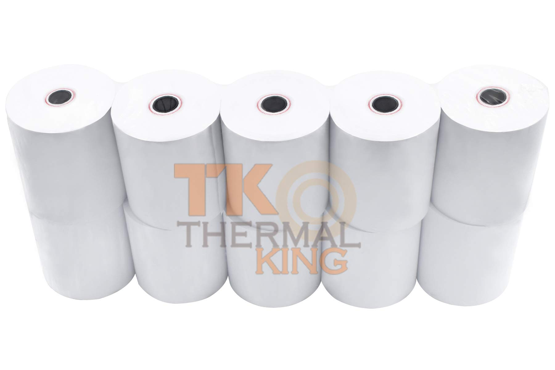 Thermal King, Point-of-Sale Thermal Paper Rolls, 3 1/8'' x 230', 10 Rolls by Thermal King