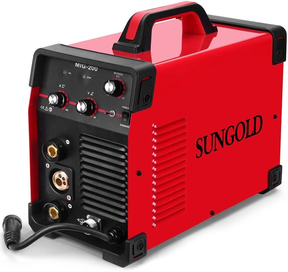 The best multifunction welding unit: SUNGOLDPOWER 200Amp