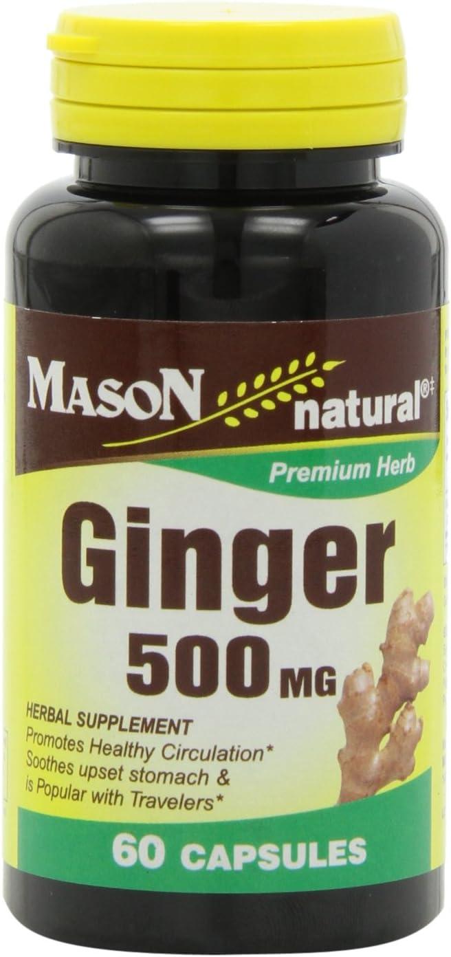 Mason Natural Ginger 500 Mg