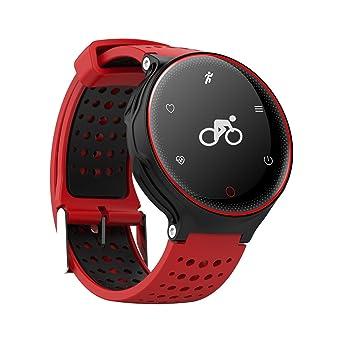 Smart Reloj de pulsera corazón Frecuencia Tensiómetro de paso Contar Oxígeno IP68 Agua Densidad Salud Dormir