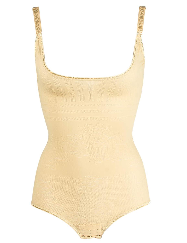 OMG/_Shop Women Seamless Control One Piece Shapewear Faja Open Bust Bodysuit Body Shaper