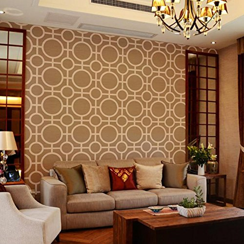 Design Trellis Pattern Allover Wall Stencil Reusable Template DIY Rooms Furniture Wallpaper Painting Mould Mural Decoration #2