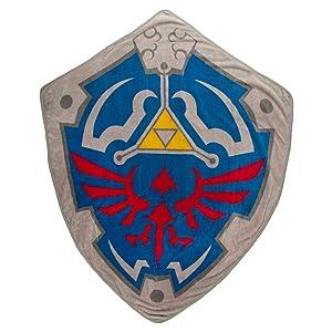 Bioworld Zelda Crest Shield Video Game Fleece Blanket