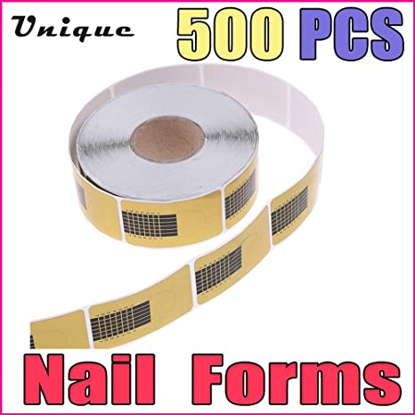 Buy Generic 500pcs Nail supplies tools Golden Nail Art Tip