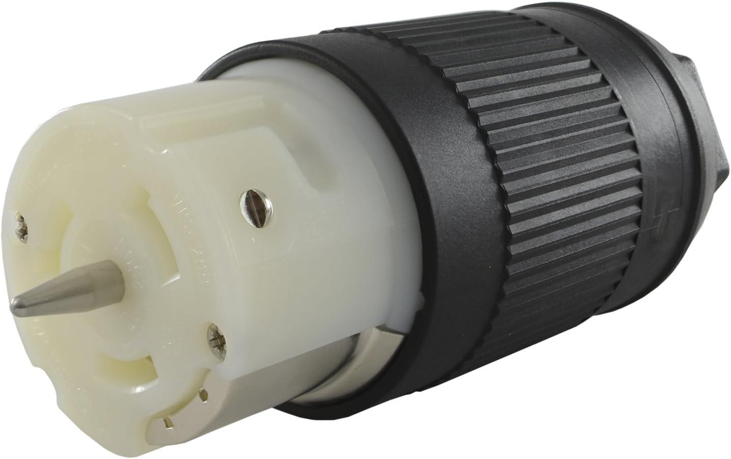 2-Pack CEP//Marinco CS6364N Female Plug 50-Amp 125//250V Twist Lock Connectors