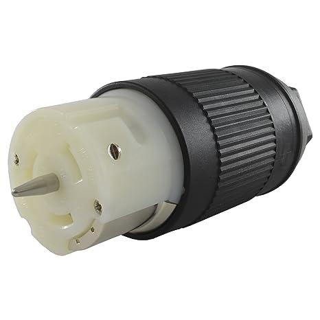 amazon com: conntek cs6364 50-amp 125/250-volt generator power cord  connector for up to 12500 watt generators: garden & outdoor