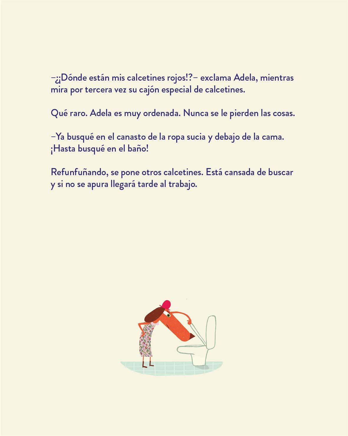 Adela y los calcetines desaparecidos: Florencia Herrera: 9789563640571: Amazon.com: Books
