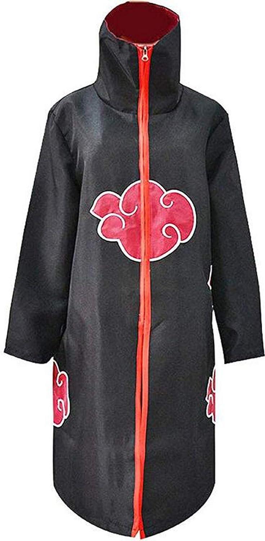 Poetic Walk Anime Naruto Akatsuki Cosplay Cloak Halloween Costume Coat Ninja Pants
