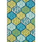 Kitchen Rugs Bright Colors Loloi,  Ventura,  VENTHVT03SU002339SEA  2'-3