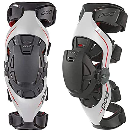 2118c47532 Amazon.com: POD Unisex-Adult K4 Knee Brace (Gray/Red, Medium/Large):  Automotive