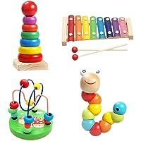 4 Sets Juguetes educativos para la Primera Infancia