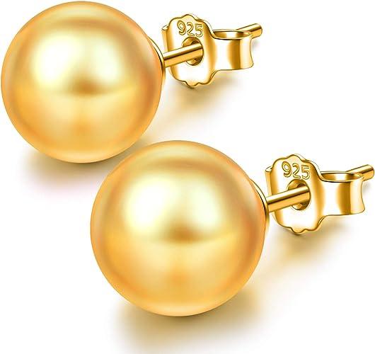 Pendientes de Plata para Mujer con Perlas