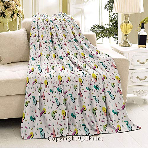 Boy and Girl Blanket,Will not Fade,Suitable for Bedroom,36