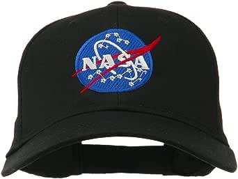 USA NASA Washed Dyed Cotton Dad Baseball Cap Floppy Soft Snapback Caps Sun Hat