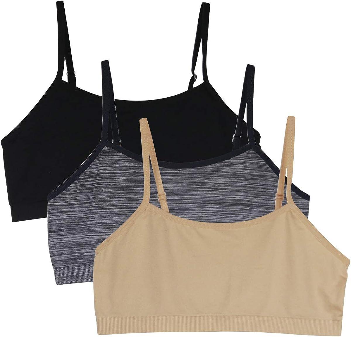 Back to School 1pcs//3pcs Baby Girls Sport Bra Vests Underwear Top Adjustable Shoulder Strap.YINI