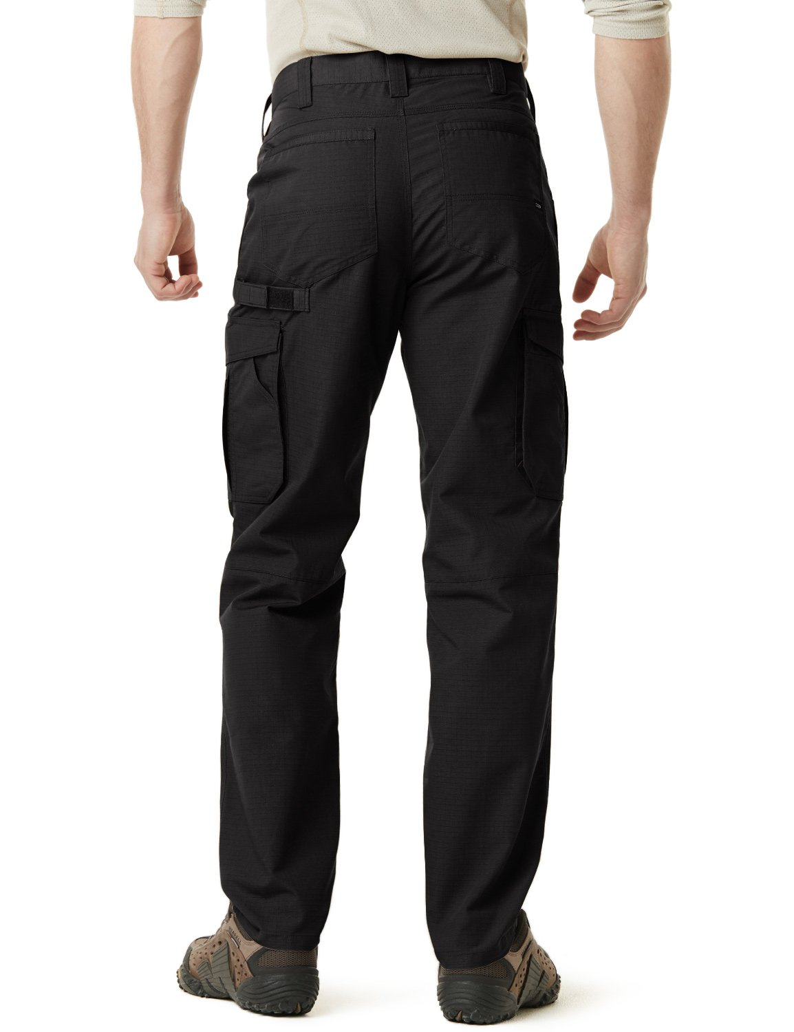 CQR CQ-TWP302-BLK_38W/34L Men's Operator Rip-Stop Tactical Work Utility Pants EDC TWP302 by CQR (Image #4)