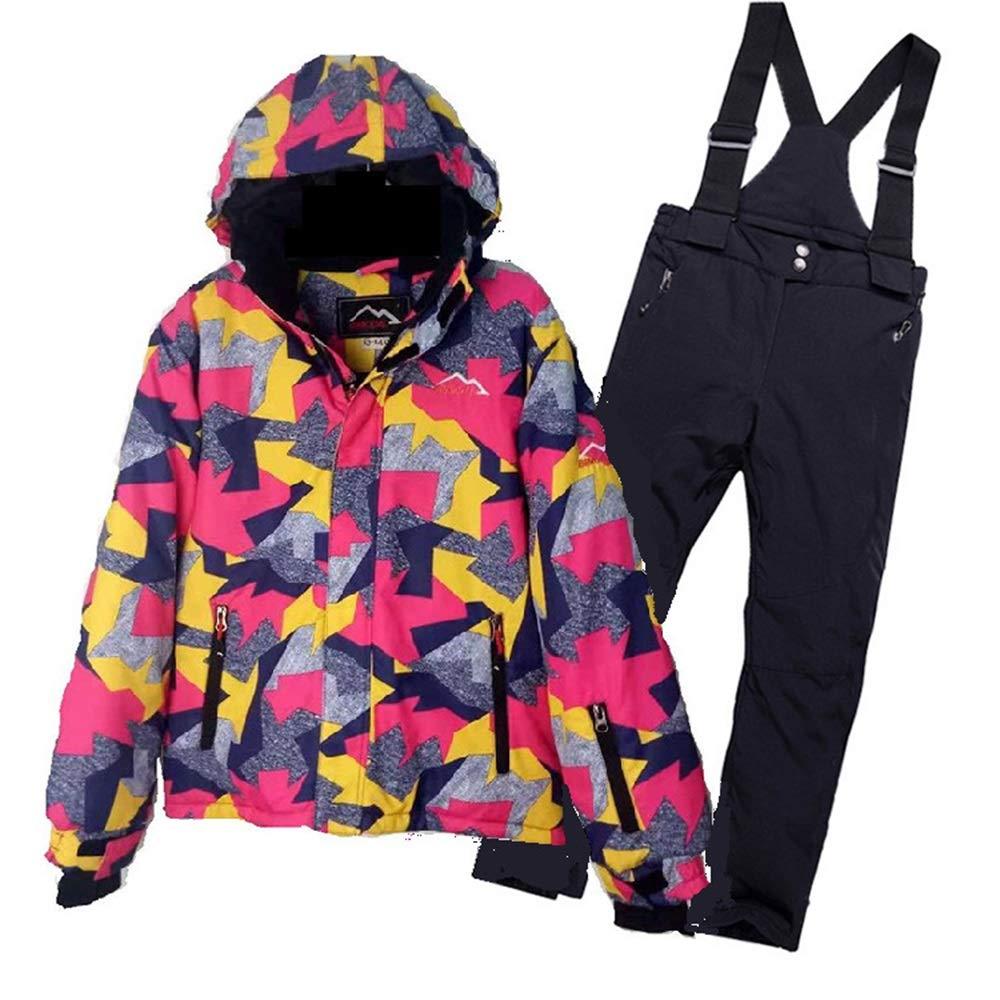 Zhangcaiyun Giacca da Sci per per per Bambini Snowsuit Abbigliamento da Sci per Bambini Single Board Double Board Warm Outdoor Ski Suit Ragazza (Dimensione   15)B07NYMRJL85 | Prestazioni Affidabili  | Design professionale  | Eleganti  | Durevole  | Cheapest  609730