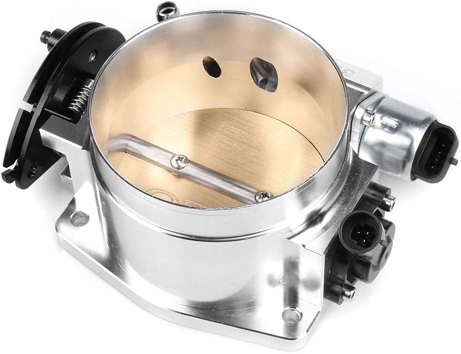 RASTP Billet Aluminum High Flow Intake Manifold 92mm Throttle Body For LS1 LS2 LS3 LS6 LSX,Black