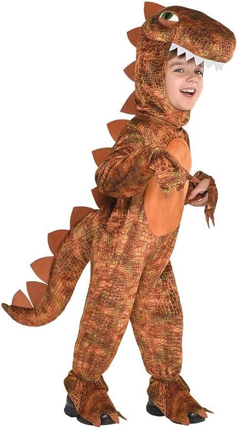 Niños T-Rex Dinosaurio 4-6 años Disfraz: Amazon.es: Juguetes y juegos