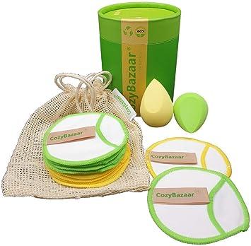 CozyBazaar® - Discos desmaquillantes lavables y reutilizables de ...