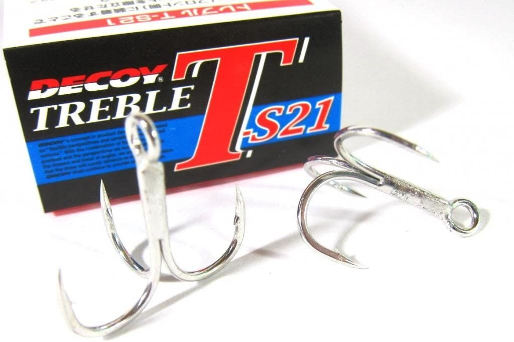 DECOY Special Design Lure Assist Belly Hook T-S21