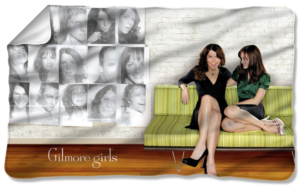 Gilmore Girls - Couch Fleece Blanket 57 x 35in