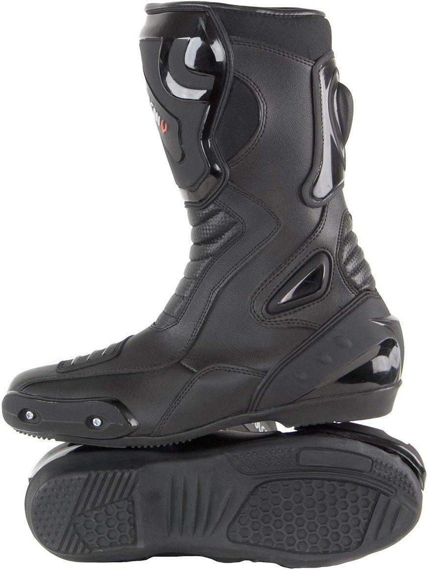 9 Vulcan V300 Mens Velocity Motorcycle Sport Boots
