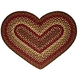 IHF Rugs Cinnamon Heart Shaped Braided Rug Review