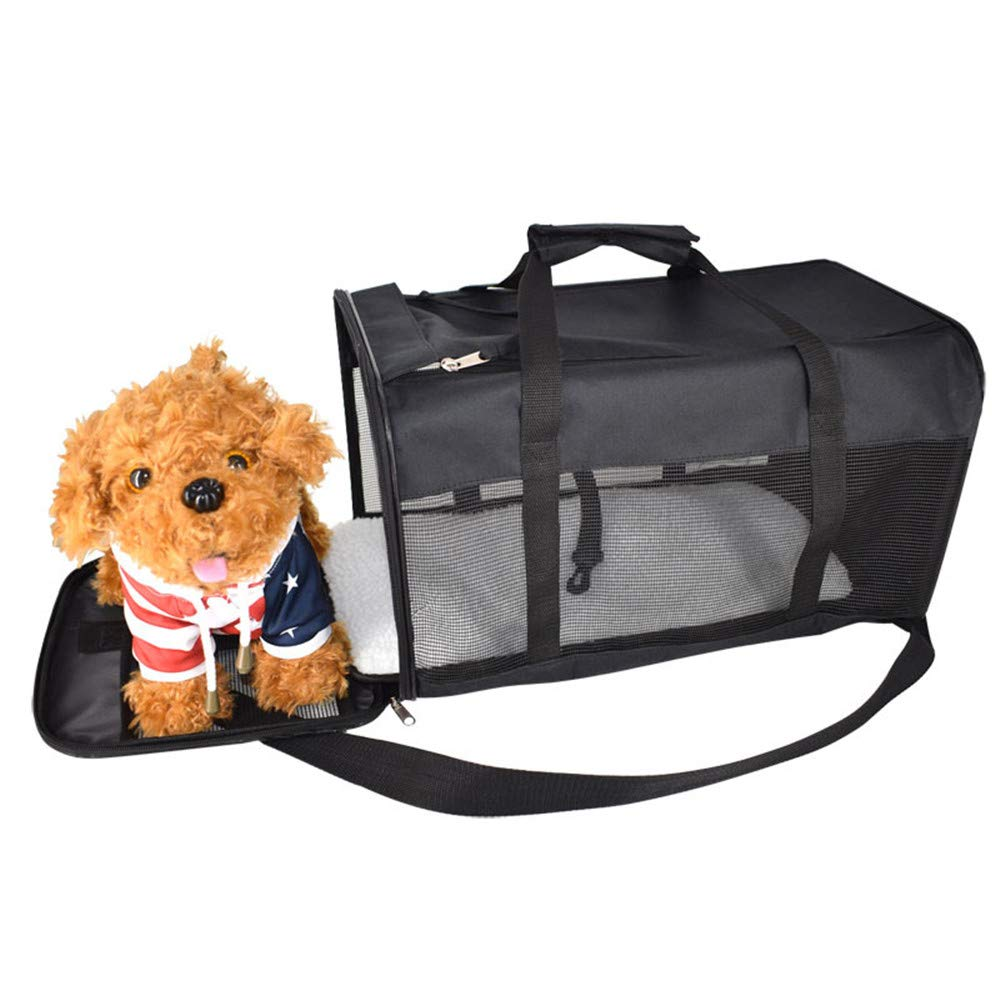 Pet Backpack Collapsible pet Bag Simple Portable Travel Travel Portable Breathable pet Bag cat Dog cage Transport Box Aviation