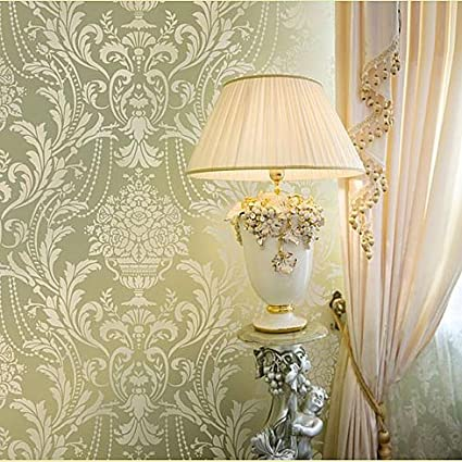 Damask Stencil Anastasia - Reusable stencils instead of wallpaper ...