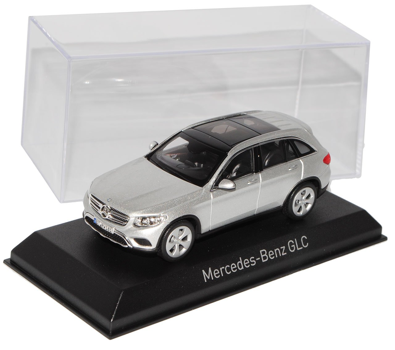 Norev Mercedes-Benz GLC X253 SUV Silber Metallic Ab 2015 1/43 Modell Auto