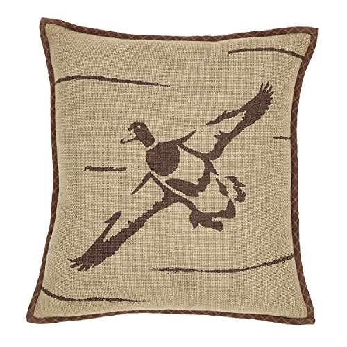 VHC Brands Rustic & Lodge Pillows & Throws - Tallmadge Tan Duck in Flight 16
