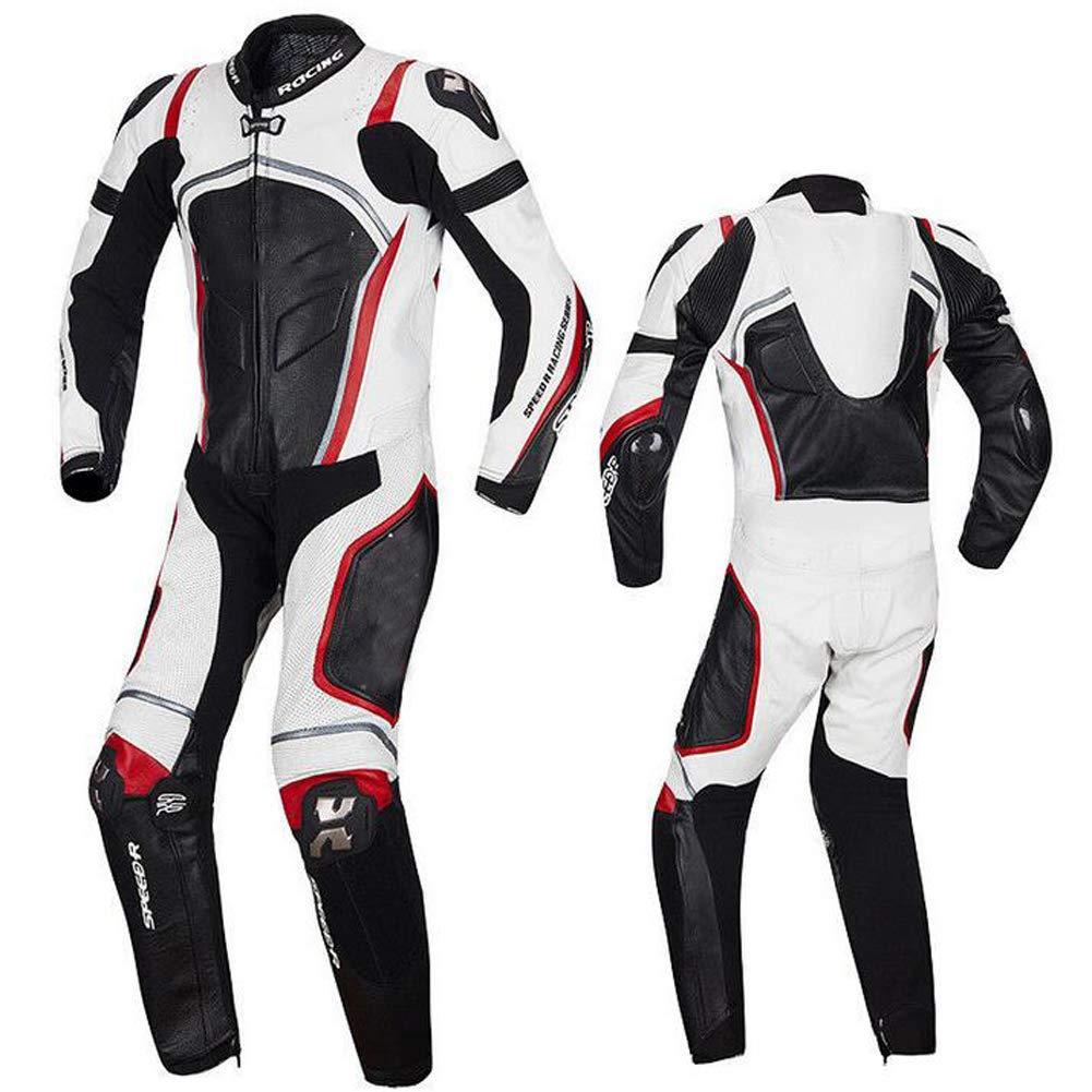 OTRG 2 Piezas Traje de Moto Chaqueta De Biker + Pantalón de ...