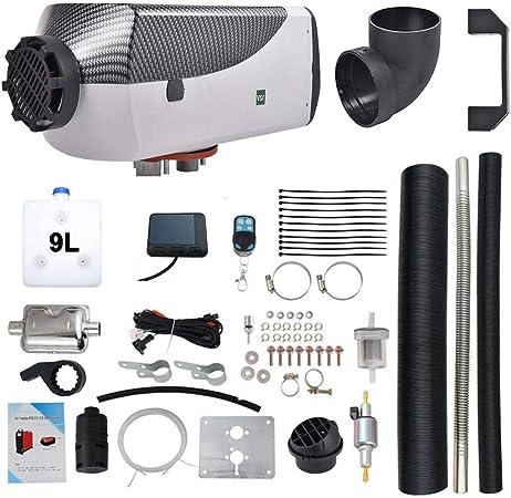 Bulary Parking Fuel Air Chauffage Voiture 1-8KW 12V Air Diesels Chauffage Automatique De Chauffage Air Chauffage Diesel pour Camion De Voiture