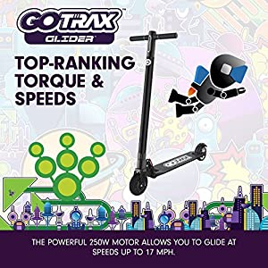 GOTRAX Glider Electric Scooter for Kids & Adults up to 264LBS - up to 17mph - 9+ mile range (Pink)
