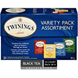 Twinings of London Variety Pack Tea Bags, 20 Count (Pack of 6)