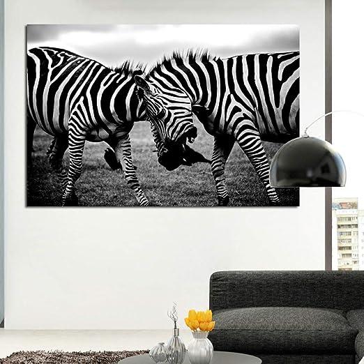 NIMCG Arte de la Lona en Blanco y Negro Dos imágenes de ...
