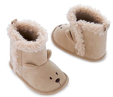 9c59fe786e3 Carters Child Of Mine Foxfur Crib Boot